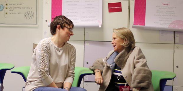 Mel Calver and Penny Ferguson, Living Leader Founder.