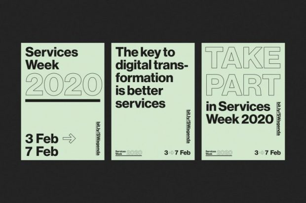 Take part in Services Week 2020