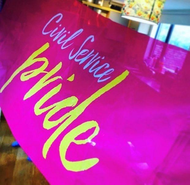 Civil Service Pride Banner
